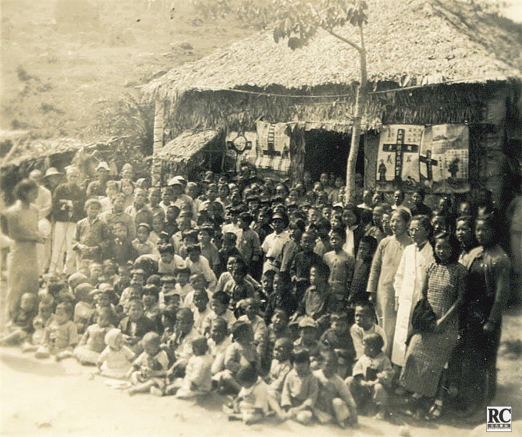 灣仔銀坑難民營