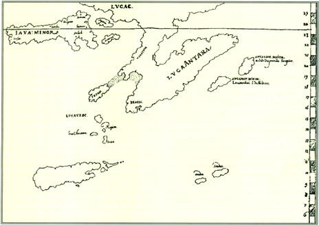 Esta carta comprova que Erédia tinha conhecimento de uma mancha de terra de  15 a 25 graus 2c164071937b7